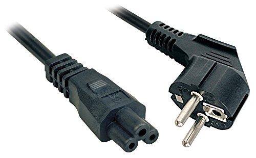 Oferta de Lindy 30406 - Cable de alimentación para portátiles con enchufe Schuko y conector C5, 3 m