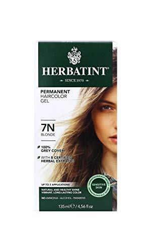 Herbatint - Coloration permanente gel - 135ml - 7N Blonde, 135ml