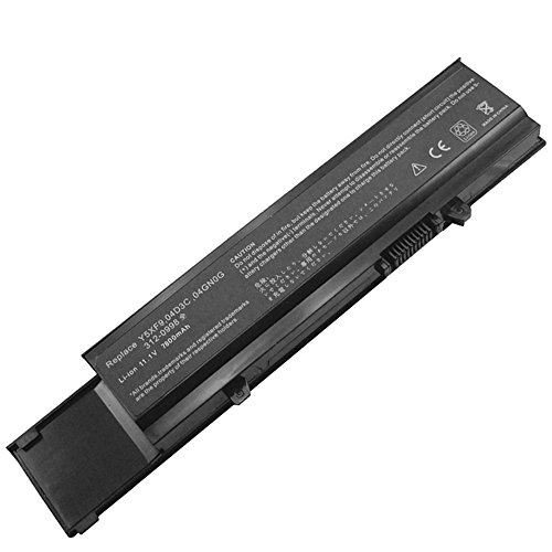 New Laptop Battery for DELL Vostro 3400 3500 3700 7FJ92 TY3P4 4JK6R P06E CWX2D CYDWV P06E001 P09F P09F001 P09S P10G P10G001 TXWRR Y5XF9 Li-ion 9 cell 11.1V 7800mAh/86W Bay Valley Parts