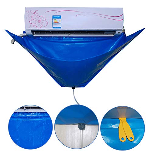 YHKJ Air Conditioning Cleaning Tools Waterproof Cover Bag Split with Drain Outlet & Water Pipe