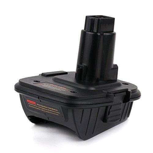 Enegitech DCA1820 Battery Adapter for Dewalt 18V Tool - Convert Dewalt 20V Lithium Ion...
