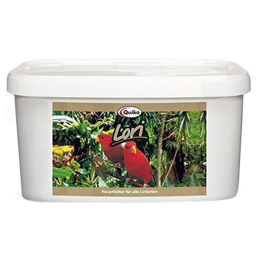 Quiko Lori 3kg - Hauptfutter für Loris, Papageien, Agaporniden und Großsittiche