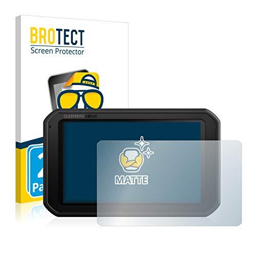 BROTECT 2X Entspiegelungs-Schutzfolie kompatibel mit Garmin dezl 780 LMT-D Bildschirmschutz-Folie Matt, Anti-Reflex, Anti-Fingerprint