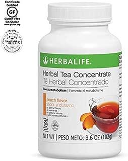 Herbalife Herbal Tea Concentrate (Peach, 3.6 OZ (102g))