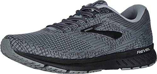 Brooks Mens Revel 3 Running Shoe - Primer/Ebony/Black - D - 10.5