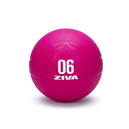 ZIVA Chic Balon Medicinal, Adultos Unisex, Rosa, 6 Kg