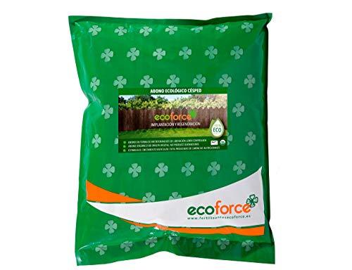 CULTIVERS Abono Ecológico Especial Césped de 5 Kg. Fertilizante de Origen Vegetal...