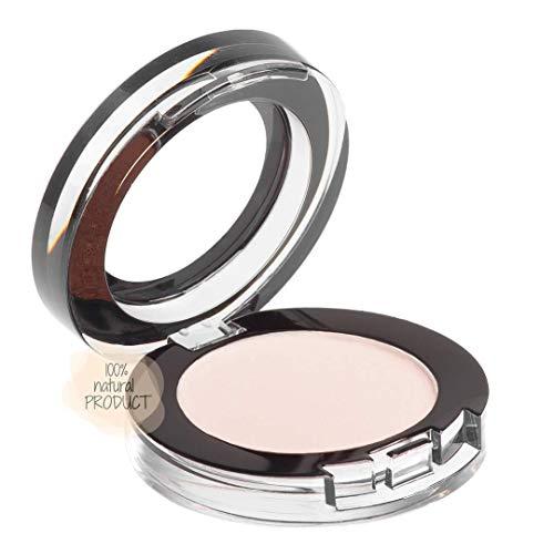 REFLECTIVES MINERAL LIDSCHATTEN - Naturkosmetik mit mineralischen Farbpigmenten und ausgezeichneter Deckkraft für empfindliche Haut und Augenpartie geeignet (weiß - creme)