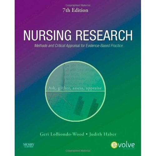 Nursing Research: Methods & Critical Appraisal for...