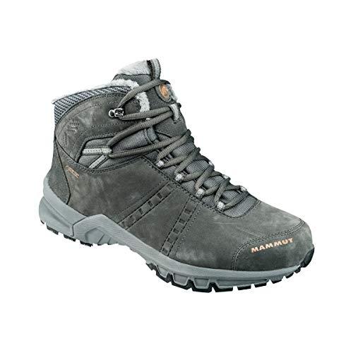 Mammut Roseg Mid GTX, Chaussures de Randonnée Hautes Homme, Gris (Graphite-Timber 00084), 45 1/3 EU