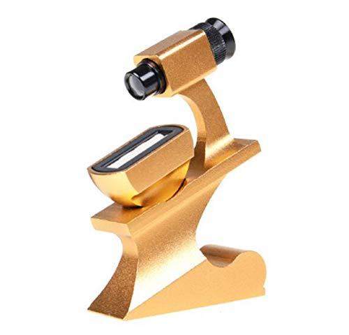 YAN FEI Lupa Prisma de Cintura 10 Veces Espejo de Cintura HD Escritorio Anillo de Diamante de Oro portátil Anillo de Bodas Joyas Herramienta de inspección