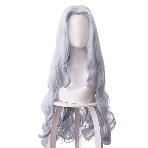 2hao1 Neu Mein Boku Kein Hero Academia Saison 4 Eri Cosplay Kostüm Lang Perücken Haar Perücke - Grau-Blau