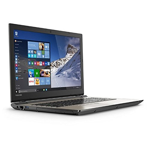 2016 Toshiba Satellite S55 15.6' Flagship High Performance Laptop PC. Intel Core i7-5500U Processor, 12GB RAM, 1TB HDD, DVD+/-RW, Bluetooth, Webcam, WIFI, Windows 10, Silver
