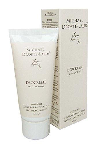 Michael Droste-Laux Naturkosmetik Deocreme mit Salbeiöl, 50 ml