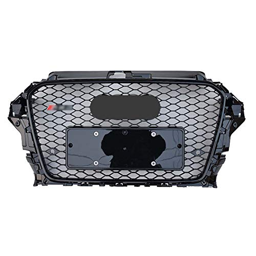 Xinshuo RS3 Style ABS Wabenart Mesh Front Kühlergrill Front Stoßstange Grill für A3 / S3 8V 2013-2016