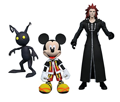 Kingdom Hearts APR178612 Select Series 1 - Mickey / Axel and Shadow Action Figure