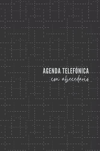 Agenda Telefónica con Abecedario: Listín telefónico ordenación de la A-Z   324 registros   Cuaderno con índice alfabético   Agenda de teléfonos ... y contactos telefónicos A5 letra grande