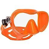 SCUBAPRO Trinidad 3 Einglas Tauchmaske Schnorchelmaske Taucherbrille (orange)