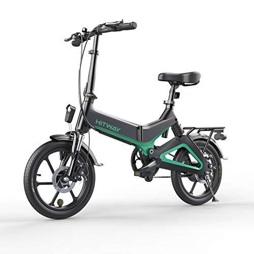 "Elektrofahrrad, Elektrofahrräder 16 ""Rad | Herausnehmbare Batterie7.5Ah | Elektro Bike 3 Geschwindigkeitsmodi | Motor 250W | E-Bike Faltrad| Doppelscheibenbremse | Klappbares Ebike Super Portable"