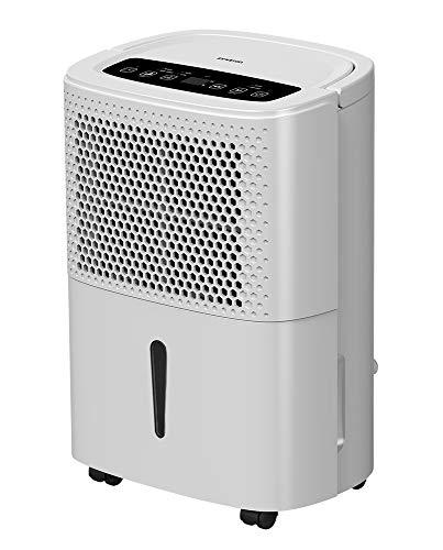 DESHUMIDIFICADOR PORTATIL DHM-10L INFINITON (Condensacion, Display LED, Temporizador, Funcion Secar-Ropa, Volumen Tranquilo ≤40db) (10 litros)