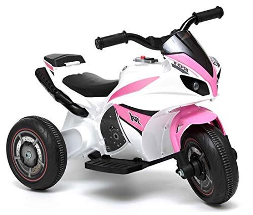 fit4form Kinder Elektro Super Trike Elektromotorrad 6V Pink rosa Kindermotorrad Dreirad elektrisch