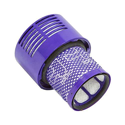 Womdee Filtre de Rechange pour Aspirateur pour Dyson V10, SV12, Remplacer Le Filtre No. 969082-01 de Dyson, Compatible avec Dyson Cyclone V10 Animal Absolute Motorhead Cordless Vacuum Cleaner