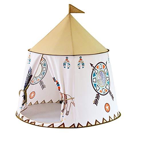 WFSH Kinder Ozean Ball Pool Tent Indoor-Spielhaus Indian Zelt Kinderspielplatz Baby-Spielhaus