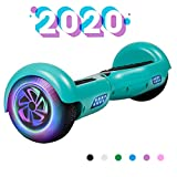 YHR 6.5' Hoverboard Two- Flashing Wheels Self Balancing Electric Scooter LED Lights Wheels UL2272 Certified Hoverboard for Kids