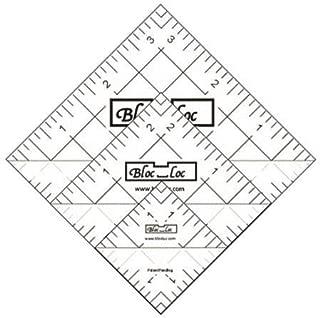 Bloc Loc~Half Square Triangle Ruler Set #4-1.5 2.5