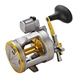 TOHHOT Roue de pêche de Bateau de pêche de mer de Forme de Tambour en métal de...