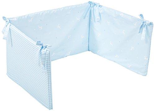 Träumeland tt14405 Tour de lit pour lit bébé Herzilein, bleu