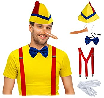 Tigerdoe Storybook Costumes - Fairy Tale Costumes - Puppet Costumes - Halloween Costumes for Adults Yellow