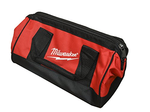 Milwaukee Bag13x6x8nch Heavy Duty Canvas Tool Bag 6 Pocket