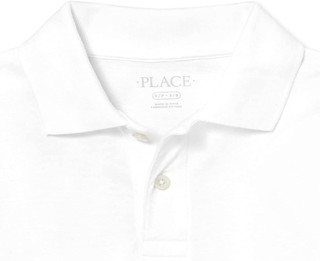 The Children's Place Boys' 2 Pack Long Sleeve Soft Jersey Polo