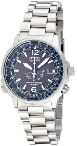 Citizen Herren-Armbanduhr Promaster Sky Pilot Analog Quarz AS2020-53E