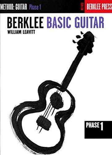 Leavitt The Guitar Phase 1 (Book Only (Berklee)): Buch, Lehrmaterial für Gitarre: Guitar Technique