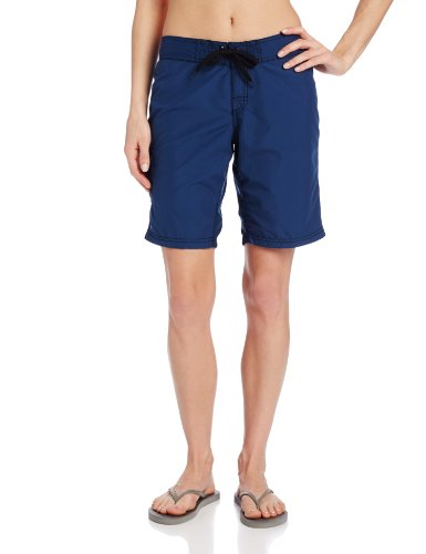 Kanu Surf Women's UPF 50+ Active Swim Board Short (Reg & Plus Sizes), Marina Navy, 14