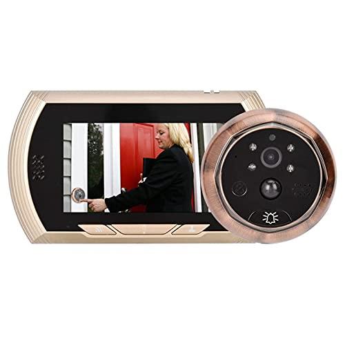 ZCZZ Timbre video del intercomunicador de la cámara de la puerta de 150 grados, para el apartamento
