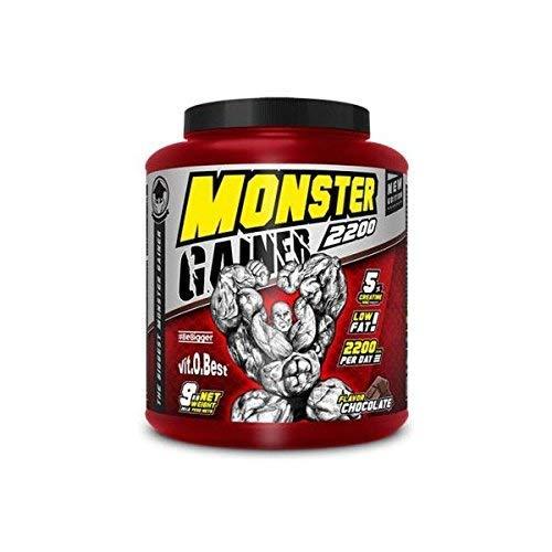 Carbohidratos MONSTER GAINER 2200 - Suplementos Alimentación y Suplementos Deportivos - Vitobest (Chocolate, 9 Kg)