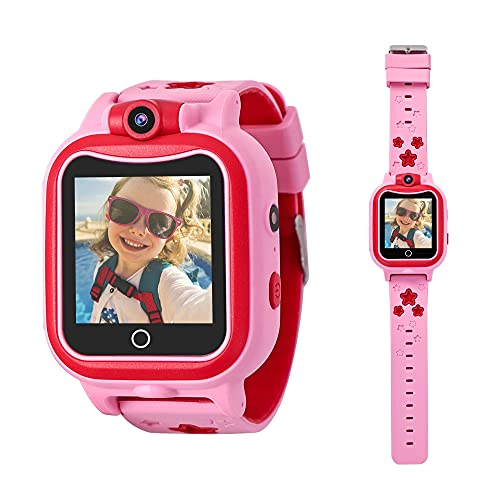 Toys for 3-8 Year Old Girls Kids Watch with Camera Smart Watches for Kids Birthday Gifts for 4 5 6 7 8 9 Girl by Rindol