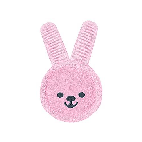 MAM 922422 - Oral Care Rabbit, Guanto per igiene orale coniglietto, colore: Rosa– Istruzioni in lingua straniera