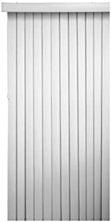 Homepointe7884VERTW White PVC Vertical Blind, 3.5-Inch by 78-Inch by 84-Inch