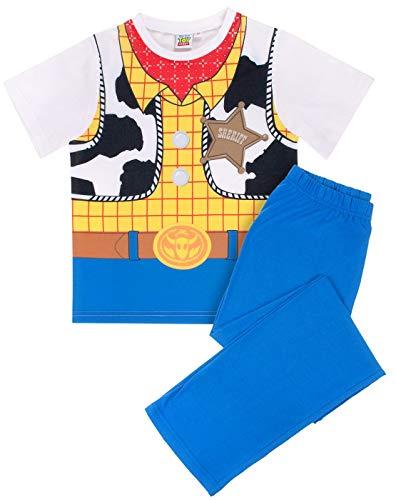 Toy Story Boys Woody Pijama Disfraz Ropa de dormir (5-6 Añ