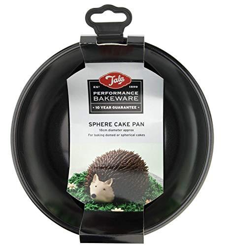 Performance, 18 cm Kugel-Kuchenform aus Karbonstahl mit Whitford Eclipse Antihaftbeschichtung, rund, gewölbte Kuchenform, leicht zu lösen