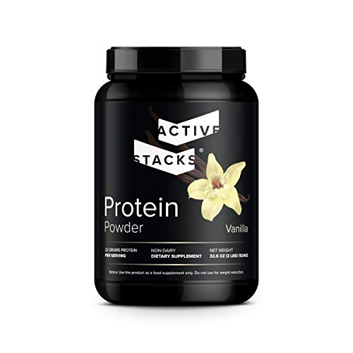 Beef Protein Powder, Vanilla - Dairy Free with Natural Collagen for Keto, Paleo, Bone Broth & Low Carb Diets, 2 Pound