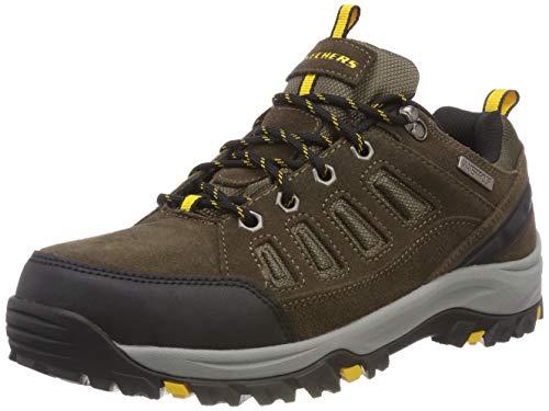 Skechers Men's RELMENT-SONGEO Hiking Boot, khk, 10 Medium US