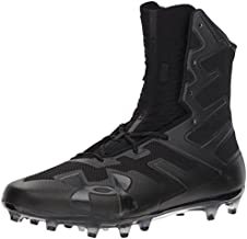 Under Armour Men's Highlight MC Football Shoe, Black (001)/Black, 12