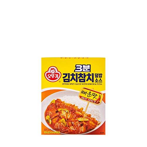 [KFM] Korean Food Ottogi Spicy Sauce With Kimchi & Tuna150g 김치참치 덮밥 소스