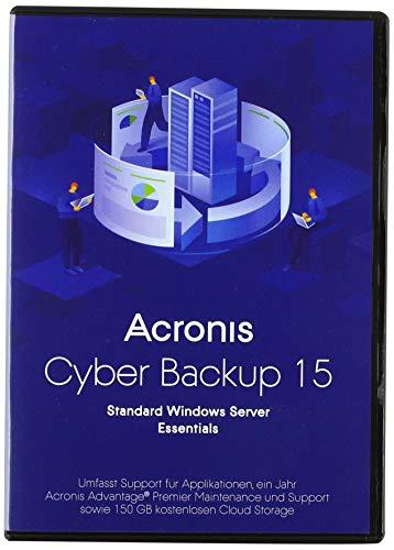Acronis Backup 15 Server Essentials Box dt.