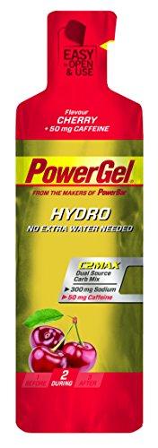 PowerBar PowerGel Hydro Kirsch und Koffein, 6er Pack (6 x 67 g)